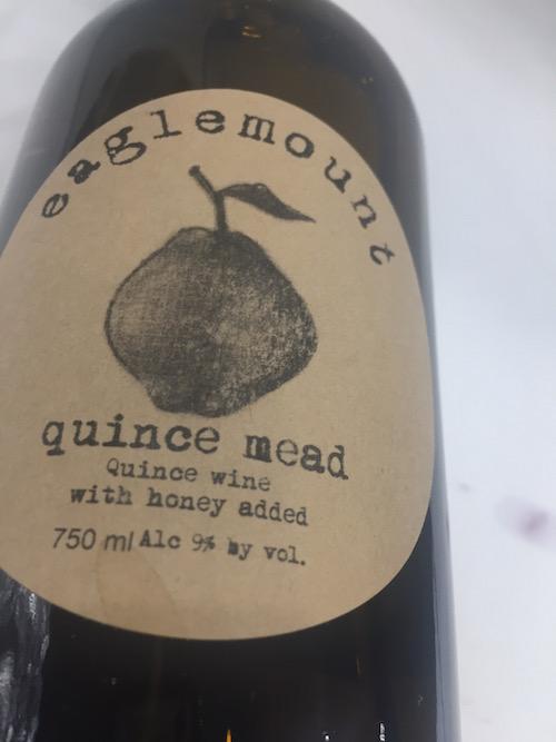 Eaglemount Quince Mead - Eaglemount Wine & Cider NV Quince Mead, Puget Sound, $22