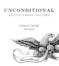 battle creek cellars unconditional pinot noir nv label 120x134 - Battle Creek Cellars 2015 Unconditional Pinot Noir, Oregon, $19