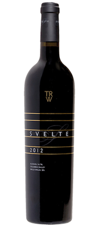 three rivers winery svelte red wine 2012 bottle - Three Rivers Winery 2012 Svelte Red Wine, Columbia Valley, $50