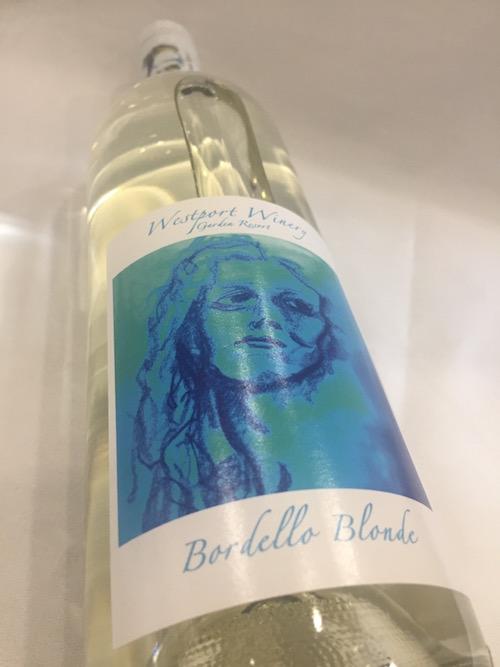 Westport Bordello Blonde - Westport Winery Garden Resort 2016 Bordello Blonde White Wine, Yakima Valley, $28