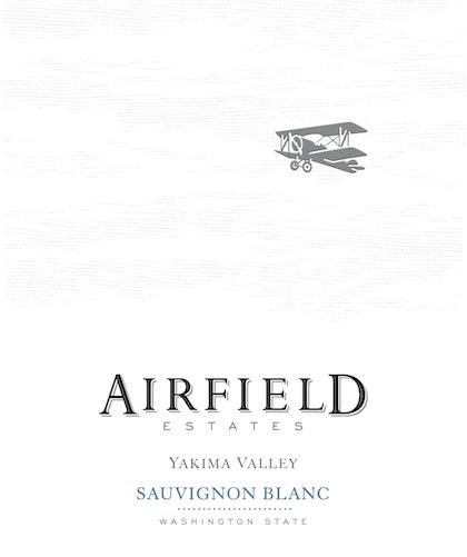 Airfield Estates Sauvignon Blanc label