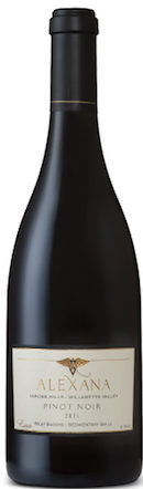 alexana winery west blocks sedimentary soils 2015 bottle e1526144439913 - Alexana Winery 2015 Estate West Blocks Sedimentary Soils Pinot Noir, Dundee Hills, $70