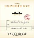 canoe ridge vineyard expedition cabernet sauvignon nv label 120x134 - Canoe Ridge Vineyard 2015 The Expedition Cabernet Sauvignon, Horse Heaven Hills, $15