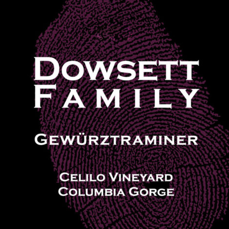 dowsett-family-wines-celilo-gewurztraminer-nv-label