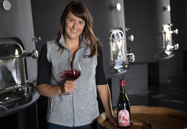 elizabeth bourcier la rata wines tanks ©Andréa Johnson Photography - Deep roots in wine lead Elizabeth Bourcier to La Rata in Walla Walla