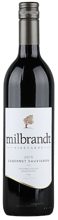 milbrandt vineyards cabernet sauvignon 2015 bottle - Milbrandt Vineyards 2015 Cabernet Sauvignon, Columbia Valley, $17