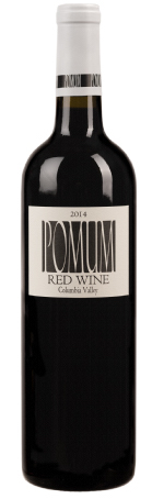 pomum cellars red wine 2014 bottle - Pomum Cellars 2014 Red Wine, Columbia Valley, $24