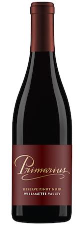 primarius winery reserve pinot noir nv bottle - Primarius Winery 2014 Reserve Pinot Noir, Willamette Valley, $22