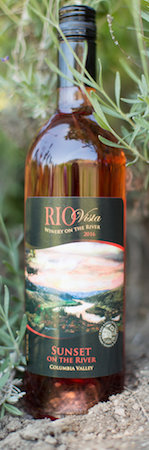 rio vista wines sunset on the river 2016 bottle - Rio Vista Wines 2016 Sunset on the River, Columbia Valley, $32