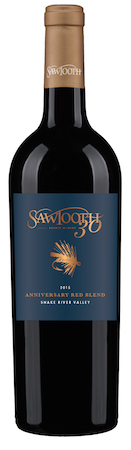 sawtooth estate winery 30th anniversary red blend 2015 bottle - Sawtooth Estate Winery 2015 30th Anniversary Red Blend, Snake River Valley, $25