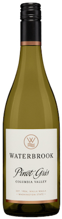 waterbrook winery pinot gris nv bottle - Waterbrook Winery 2017 Pinot Gris, Columbia Valley, $15