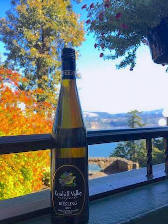 yamhill valley vineyards riesling 2015 bottle - Yamhill Valley Vineyards 2015 Riesling, Willamette Valley, $18