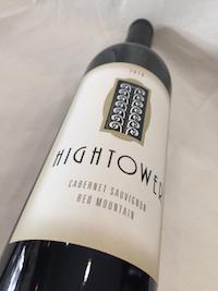 Hightower Cab 1 - Hightower Cellars 2014 Cabernet Sauvignon, Red Mountain, $40