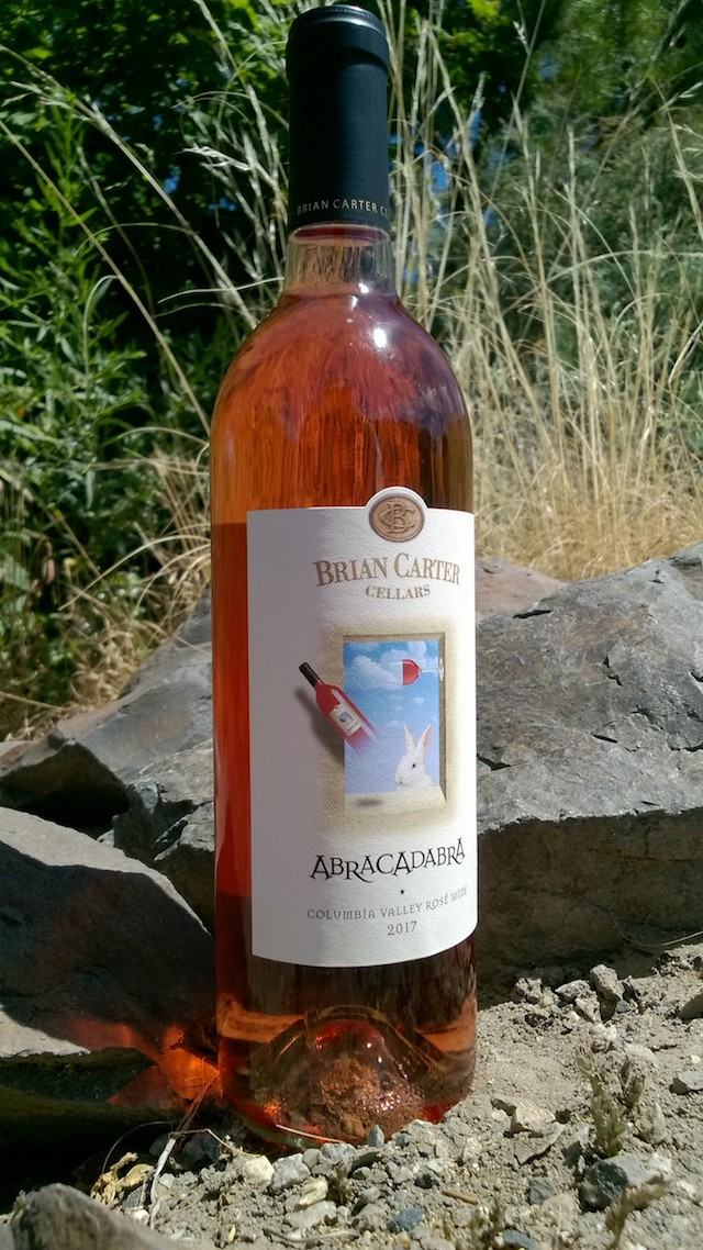 brian carter cellars abracadabra rose 2017 bottle - Brian Carter rosé rises to top of Washington State Wine Competition