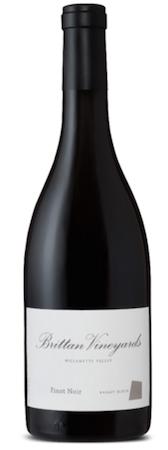 brittan vineyards basalt block pinot noir nv bottle - Brittan Vineyards 2014 Basalt Block Pinot Noir, McMinnville, $48