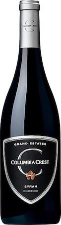 columbia crest grand estates syrah nv bottle - Columbia Crest 2016 Grand Estates Syrah, Columbia Valley, $12
