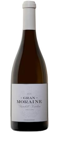 gran moraine winery chardonnay 2015 bottle - Gran Moraine Winery 2015 Chardonnay, Yamhill-Carlton, $45