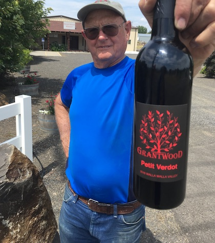 joe grant grantwood winery 2016 petit verdot bottle winery - Washington wine lovers should seek out big Petit Verdot