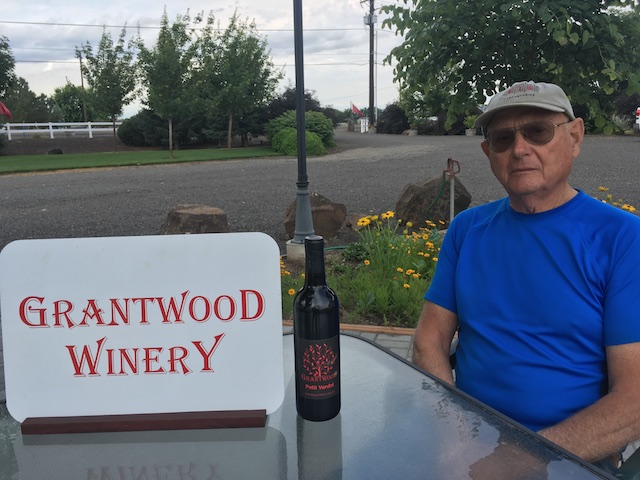 joe grant grantwood winery highway 20 - Tiny Grantwood Winery tops Walla Walla Valley Wine Competition