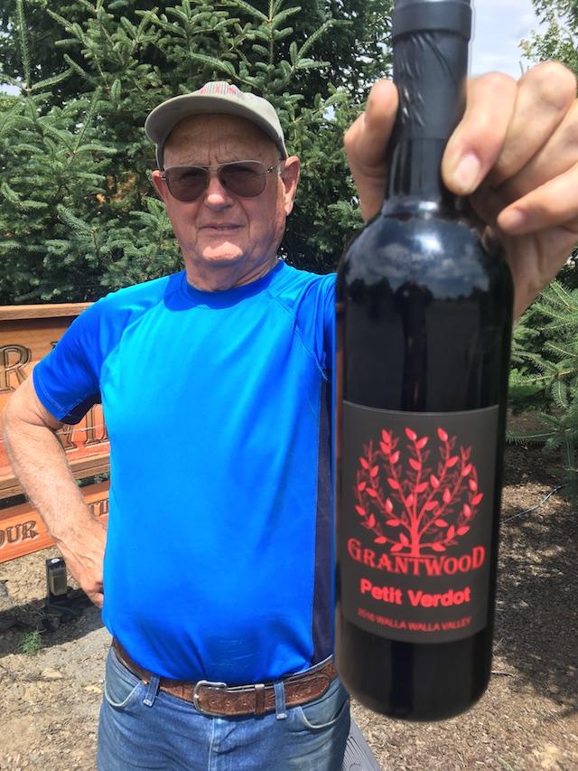 joe grant grantwood winery petit verdot - Tiny Grantwood Winery tops Walla Walla Valley Wine Competition