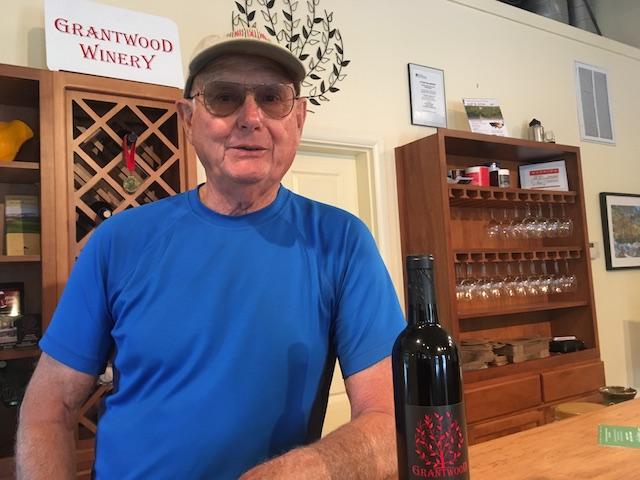 joe grant grantwood winery tasting room - Zerba Cellars 2016 Wild Z wins Walla Walla wine competition