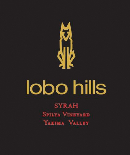 lobo hills spilya vineyard syrah nv label - Lobo Hills Wine Co. 2014 Spilya Vineyard Syrah, Yakima Valley, $30