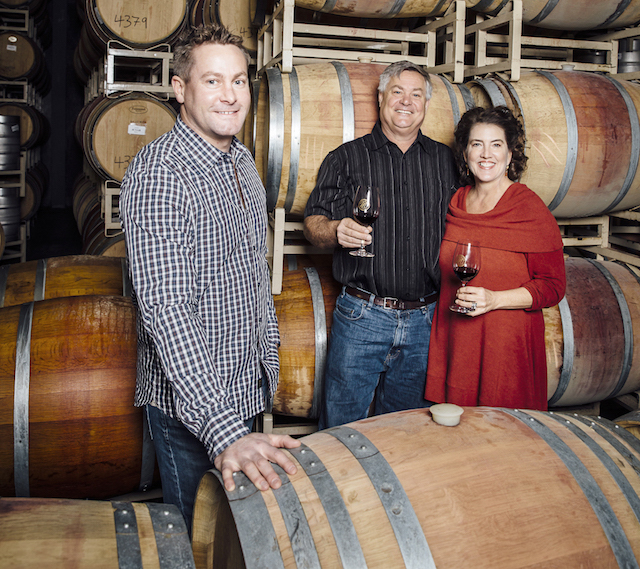 maryhill winery richard batchelor craig vicki leuthold barrel room - Brian Carter rosé rises to top of Washington State Wine Competition