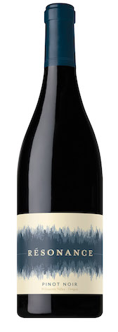 resonance pinot noir willamette valley nv bottle - Résonance 2015 Pinot Noir, Willamette Valley, $45