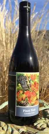 rio vista wines pinot noir 2015 bottle - Rio Vista Wines 2015 Pinot Noir, Columbia Valley, $42