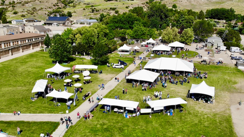 savor idaho 2018 aerial greg smith idaho wine commission - Savor Idaho serves as delicious barometer for Idaho wine industry