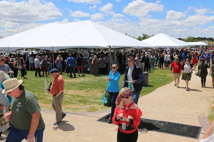 savor idaho tents 2018 deborah christison idaho wine commission - Savor Idaho serves as delicious barometer for Idaho wine industry