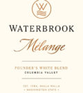 waterbrook winery melange founders white blend nv label 120x134 - Waterbrook Winery 2017 Melange Founder's White Blend, Columbia Valley, $15