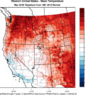 western us mean temperature may 2018 1 120x134 - 2018 vintage for Northwest wine growers tracks ahead of hot 2015
