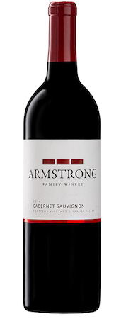armstrong family winery portteus vineyard cabernet sauvignon 2014 bottle - Armstrong Family Winery 2014 Portteus Vineyard Cabernet Sauvignon, Yakima Valley, $36