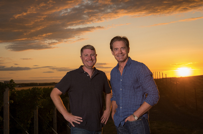Pursued By Bearabeja Winemaker Dinner With Kyle Maclachlan And