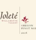 jolete wines pinot noir 2016 label vertical 120x134 - Joleté Wines 2016 Pinot Noir, Willamette Valley, $29