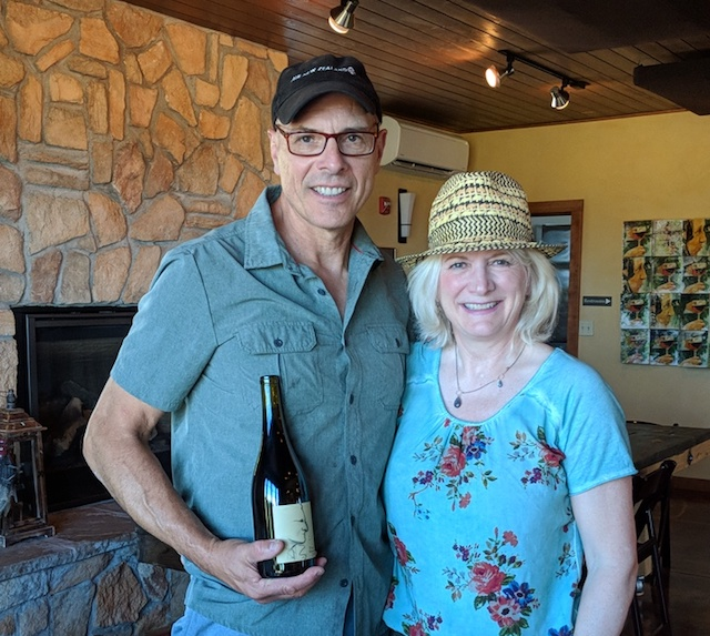 Steven and Karen Lutz of Lenne Estate