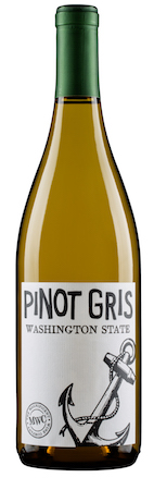 magnificent wine company nv pinot gris bottle - The Magnificent Wine Co. 2017 Pinot Gris, Washington, $10