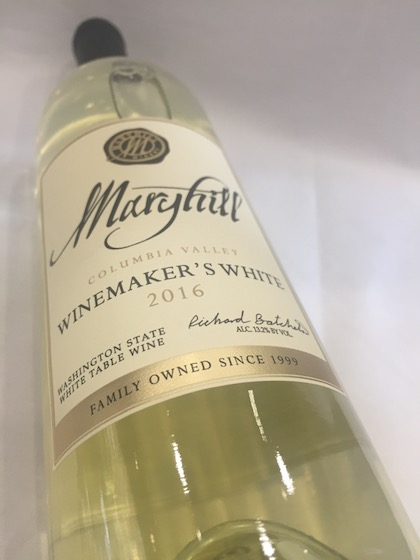 maryhill winery winemakers white 2016 bottle - Maryhill Winery 2016 Winemaker's White, Columbia Valley, $14
