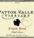 patton valley vineyard estate pinot noir 2015 label 120x134 - Patton Valley Vineyard 2015 Estate Pinot Noir, Willamette Valley, $25
