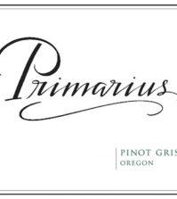 primarius winery pinot gris nv label 199x223 - Primarius Winery 2017 Pinot Gris, Oregon, $14