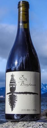 sin banderas wines red wine 2015 bottle - Sin Banderas Wines 2015 Syrah 80% Mourvèdre 20%, Yakima Valley, $32