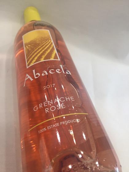 Abacela rose - Abacela 2017 Estate Grenache Rosé, Umpqua Valley, $18