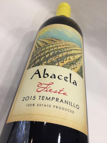 Abacella Tempranillo - Abacela 2015 Estate Fiesta Tempranillo, Umpqua Valley, $23
