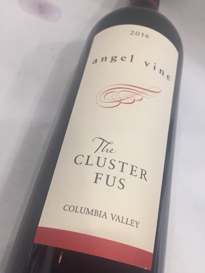 Angel Vine Cluster Fus - Angel Vine 2016 The Cluster Fus Red Wine, Columbia Valley, $28