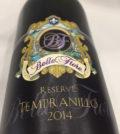Belle Fiore Reserve Tempranillo 120x134 - Belle Fiore Winery 2014 Reserve Tempranillo, Rogue Valley, $41