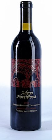 adega northwest firethorn vineyard trillium block cabernet sauvignon 2015 bottle - Adega Northwest 2015 Firethorn Vineyard Trillium Block Cabernet Sauvignon, Columbia Valley/Oregon, $36