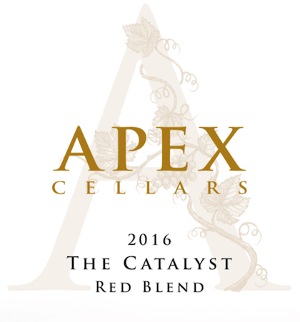 apex-cellars-the-catalyst-red-blend-2016-label