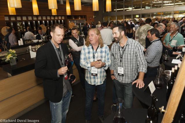 chris upchurch will wiles private barrel auction 2018 e1534736064567 - Private Barrel Auction raises $251,500 for Washington State University wine program