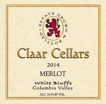 claar-cellars-white-bluffs-merlot-2014-label